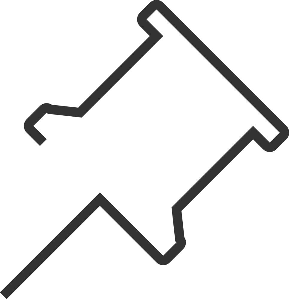 Pin Minimal Icon