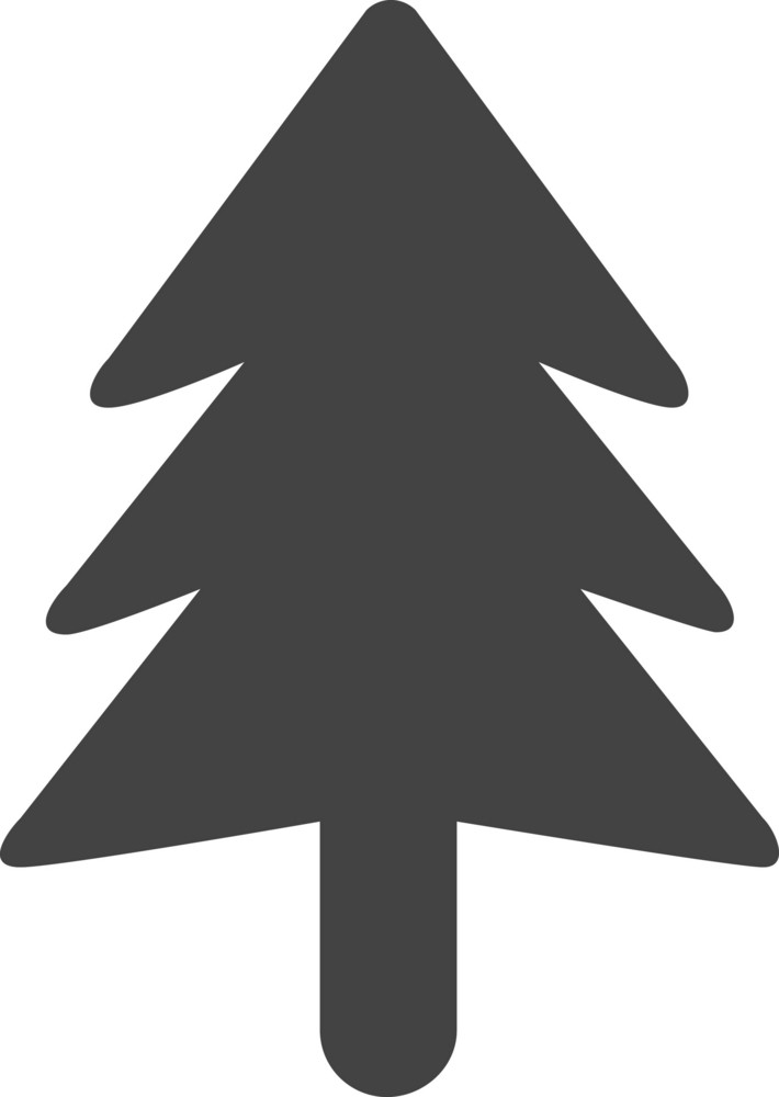 Pine Glyph Icon