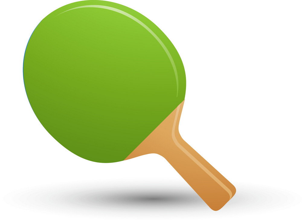 Ping Pong Paddle Lite Sports Icon