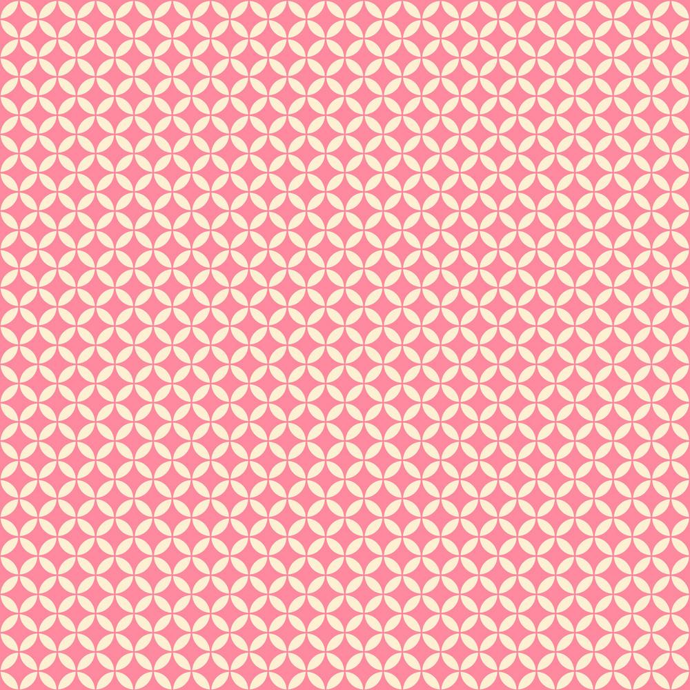 Pink Circles Pattern