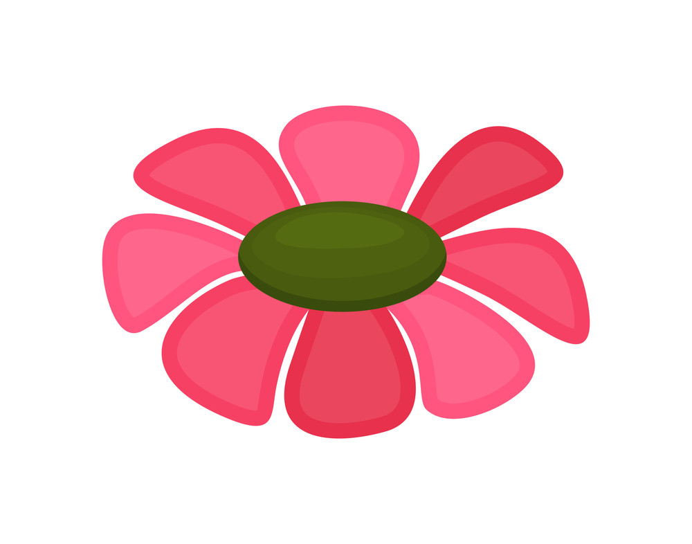 Pink Flower Drawing