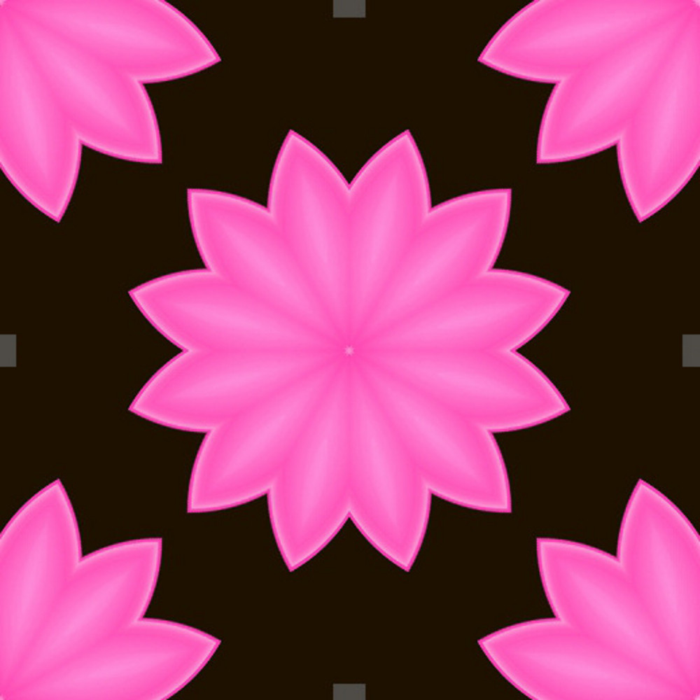 Pink Flowers Backdrop