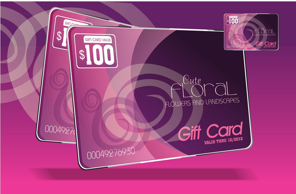 Pink Gift Cards