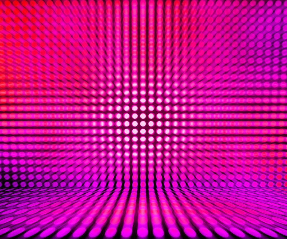 Pink Leds Light Stage Background