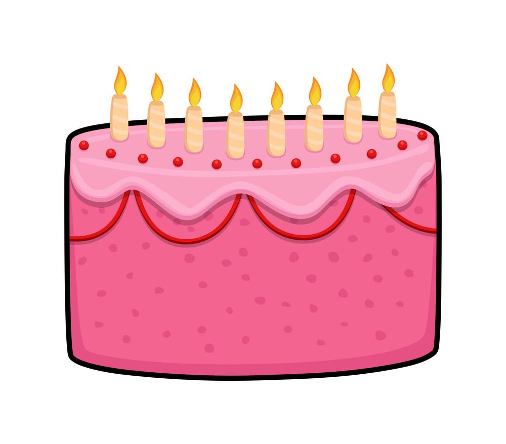 Pink Pineapple Cake