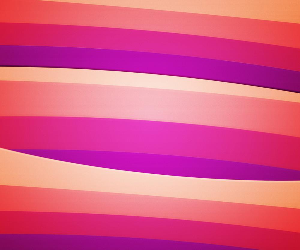 Pink Retro Striped Background