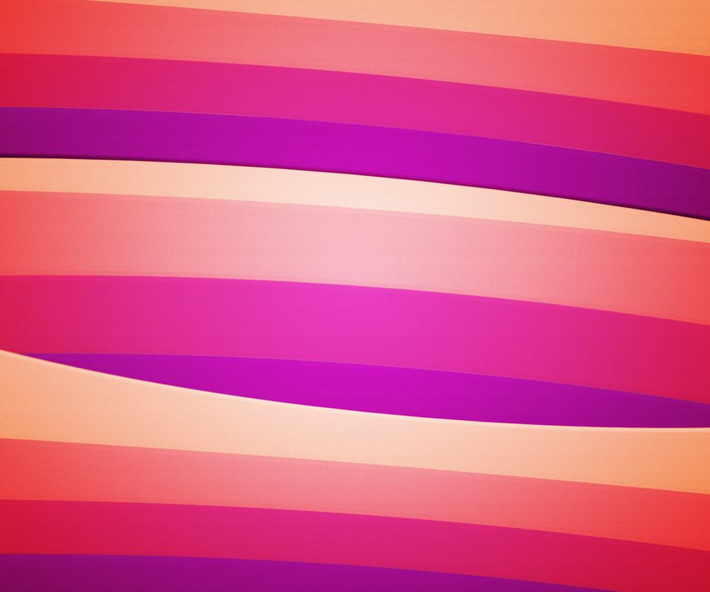Pink Retro Striped Background
