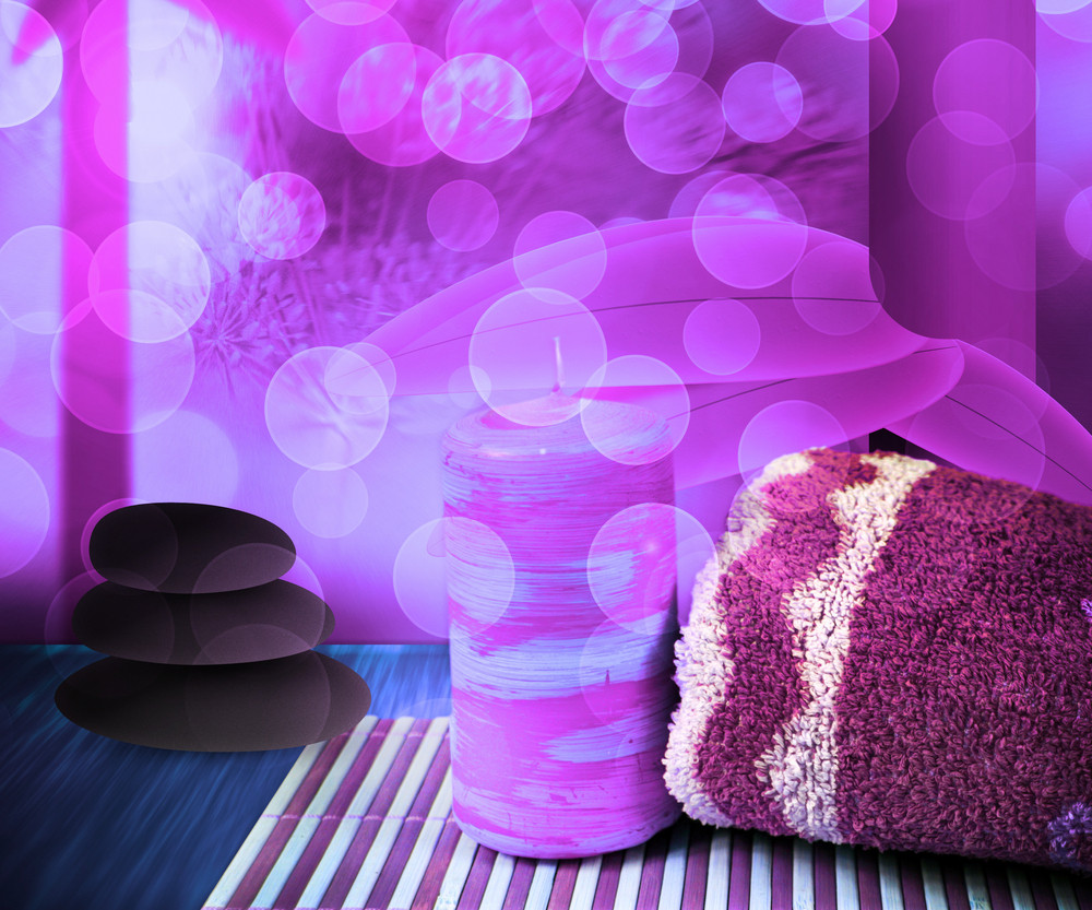 Pink Spa Background