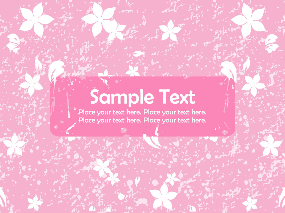 Pink Texture Background With Bloom