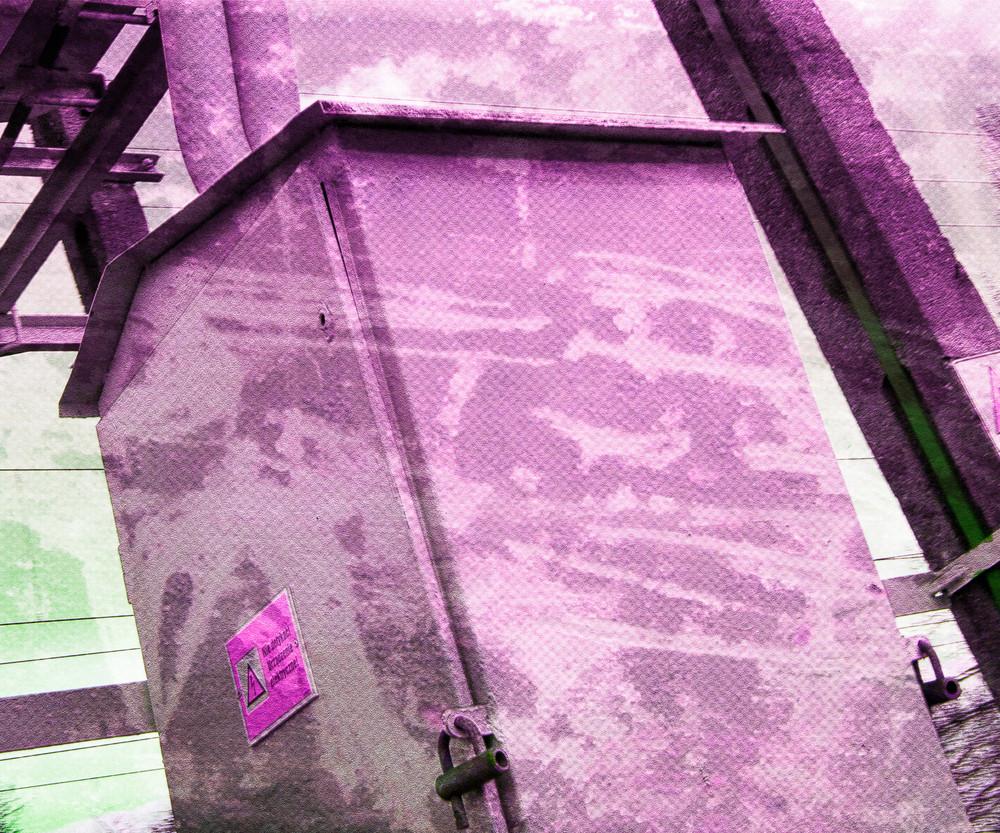 Pink Urban Background