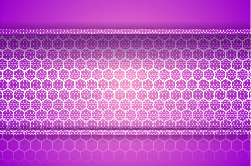 Pink Vector Mesh