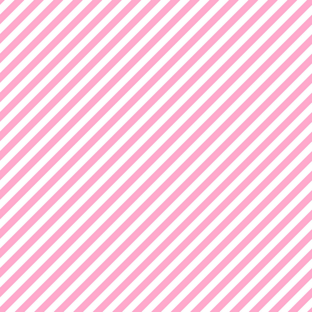 Pink And White Diagonal Stripes Pattern