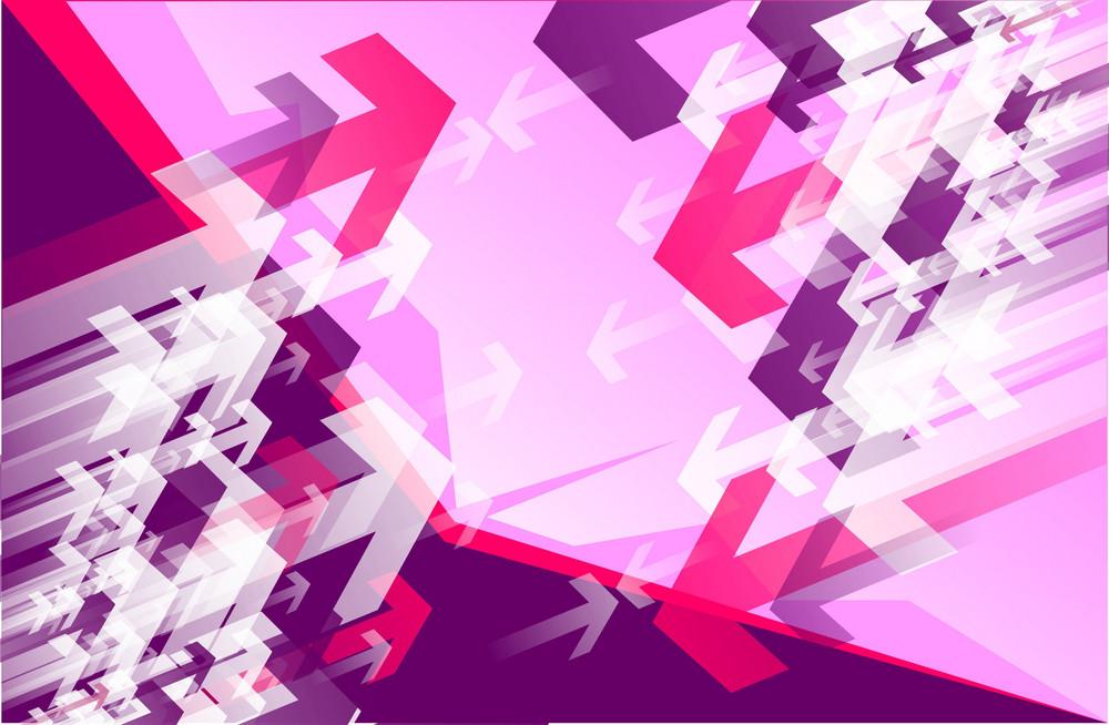 Pinky Arrows Vector