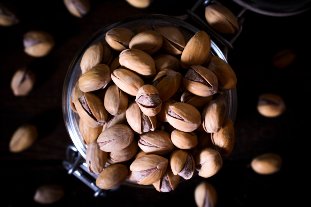 Pistachios From Above