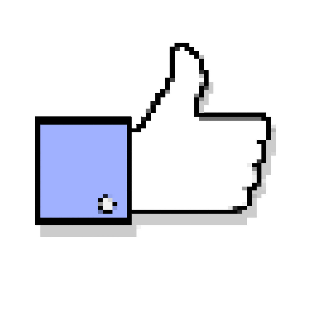 Pixelated Thumb Up