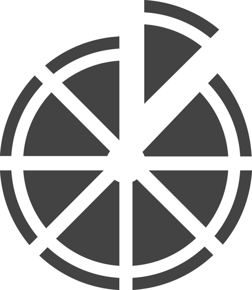 Pizza Glyph Icon