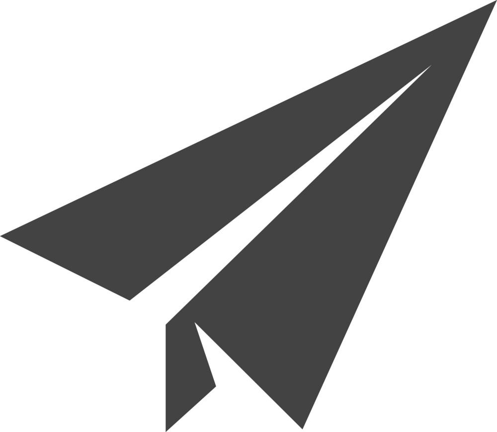 Plane 3 Glyph Icon