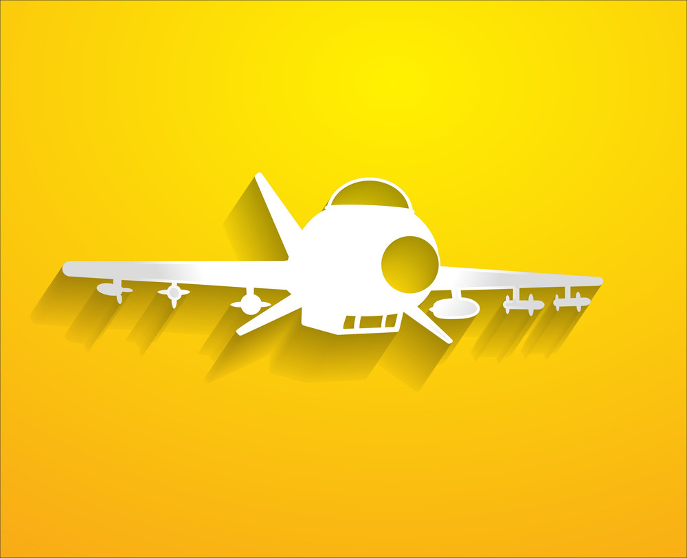 Plane Vector Shape
