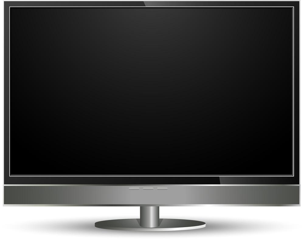 Plasma Tv Vector