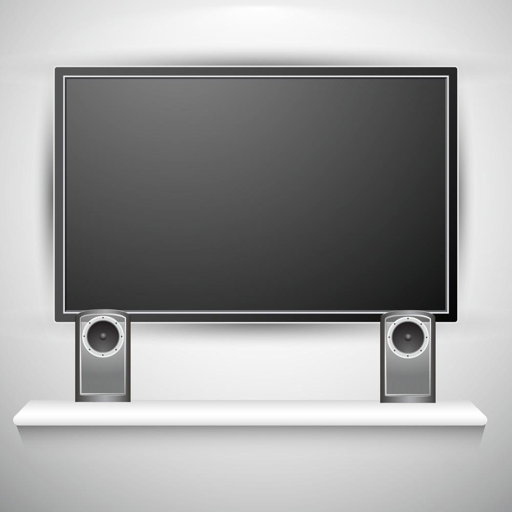 Plasma Tv With Speakers