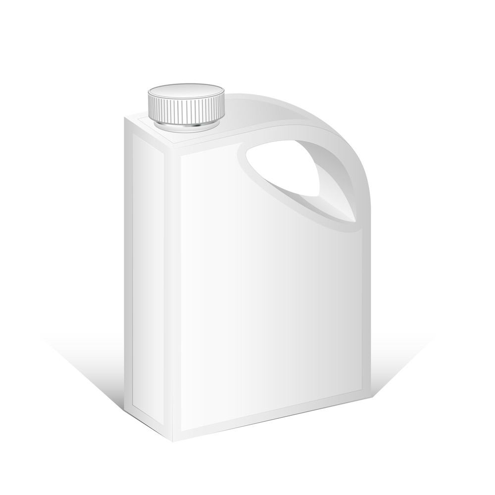 Plastic Can Vector