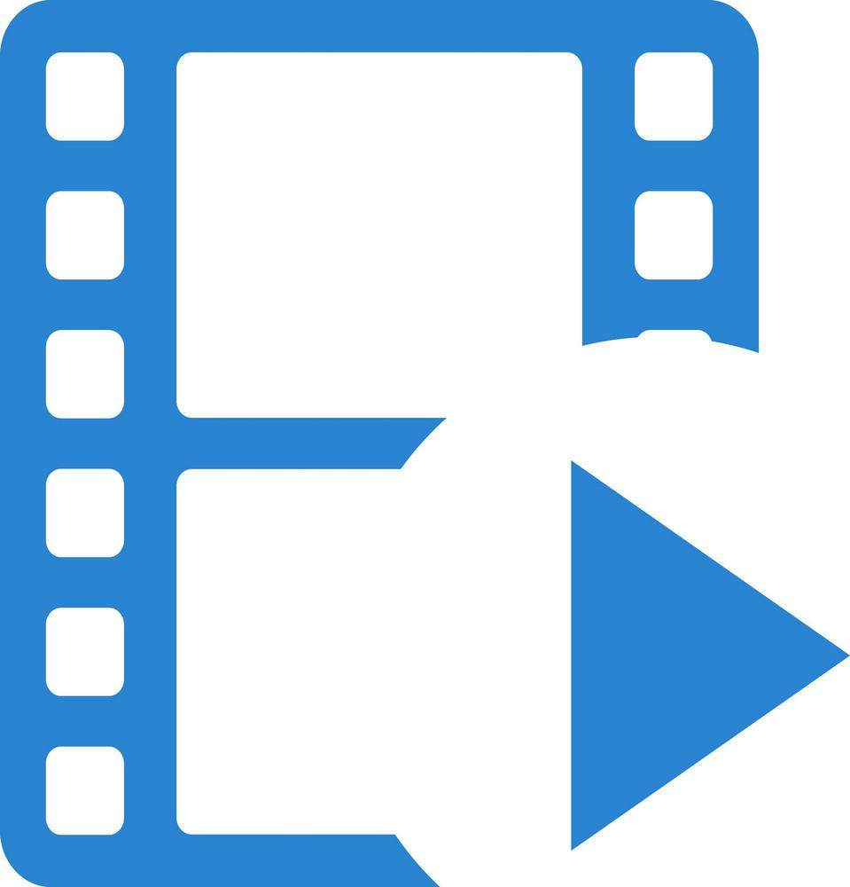 Play Movie Simplicity Icon