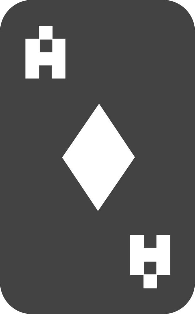 Poker 2 Glyph Icon