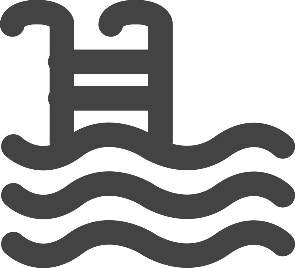 Pool Glyph Icon