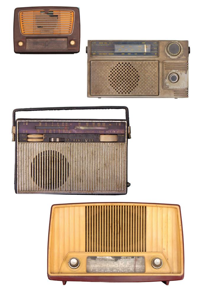 Portable Old Soviet Radio