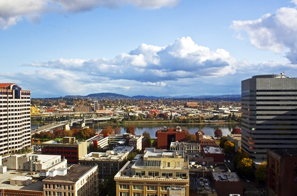 Portland City Panorama