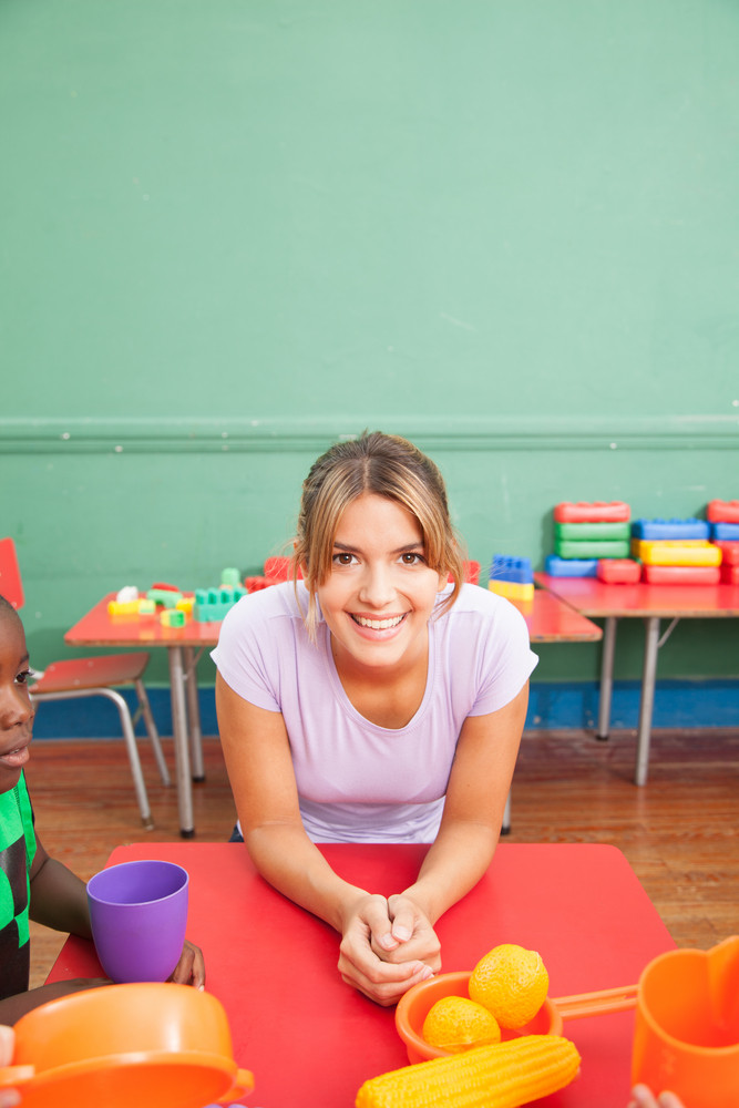Portrait of a Female Teacher