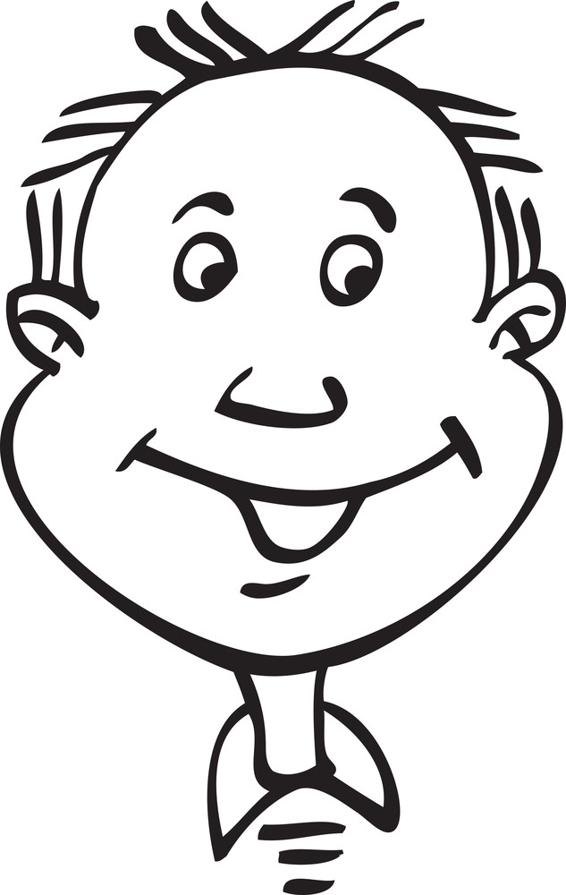 Portrait Of A Happy Boy.