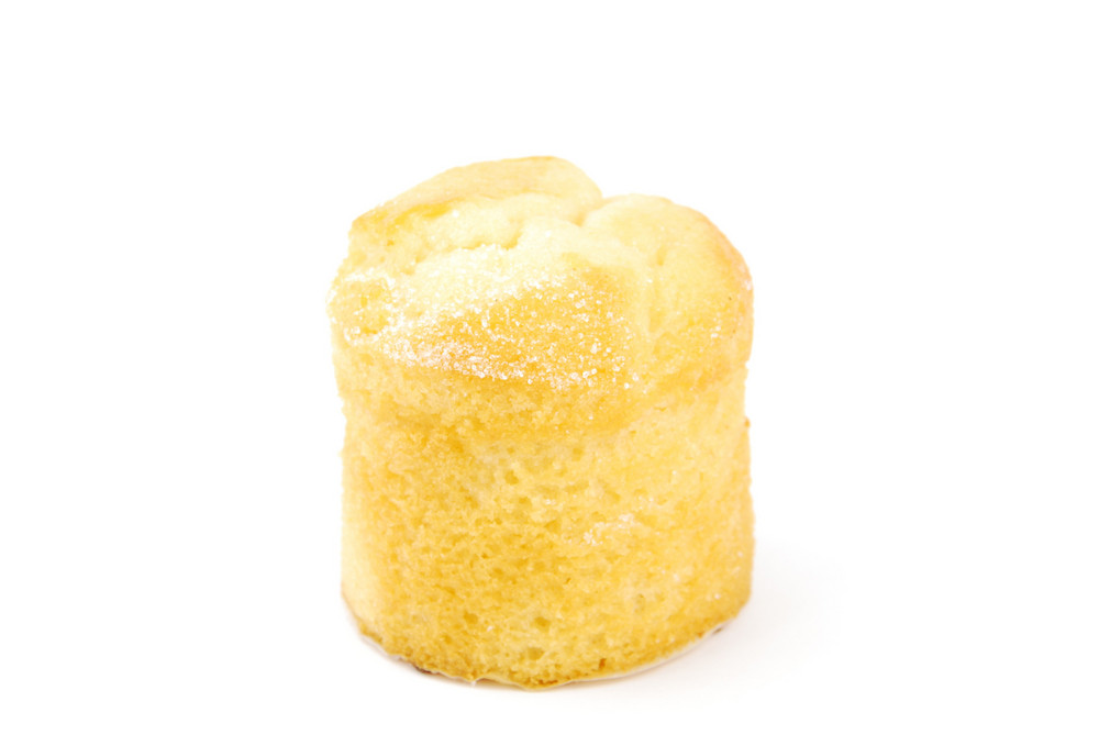 """Portugese Pastry Called """"bolo De Arroz"""" (rice Muffin)"""