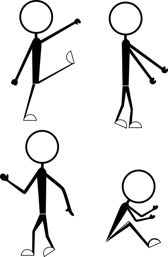 Poses And Actions