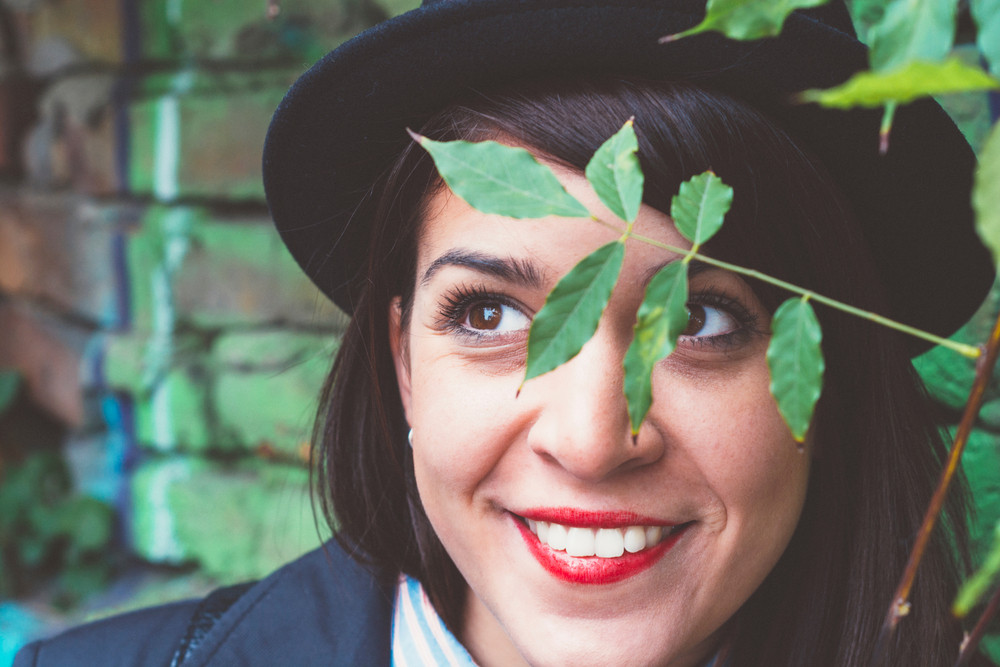Positive Female Portrait