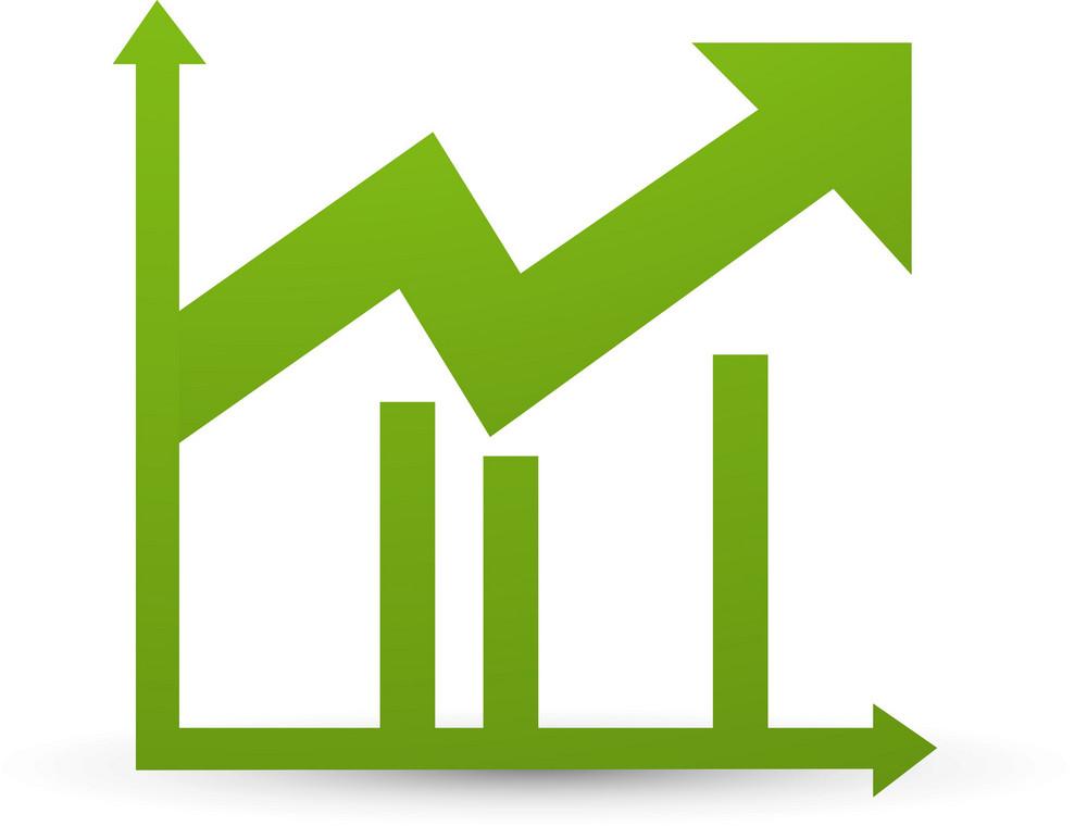 Positive Trend Graph Lite Application Icon
