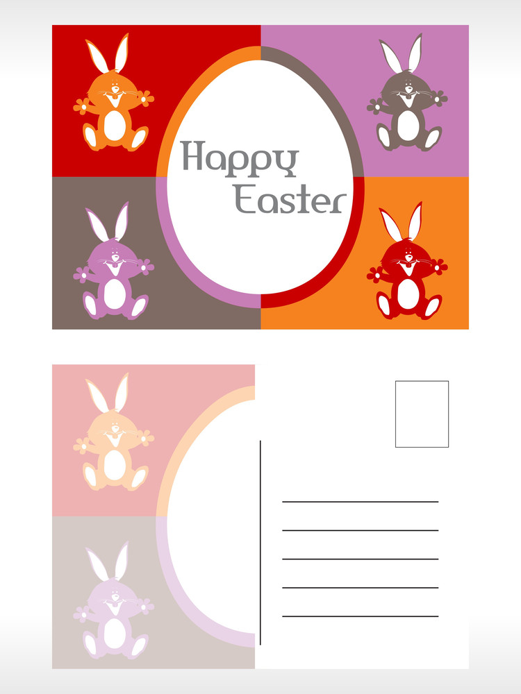 Post Card For Easter Day