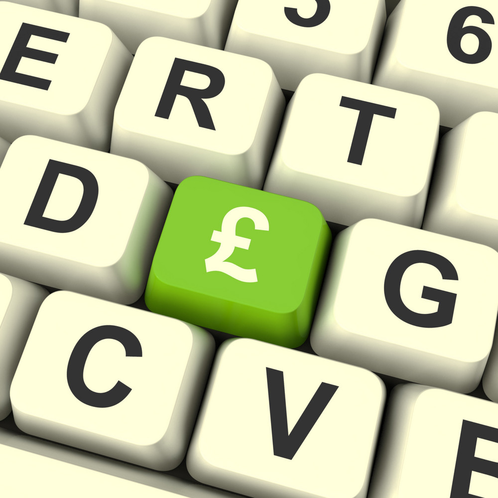 Pound Symbol Computer Key Meaning Money And Investment