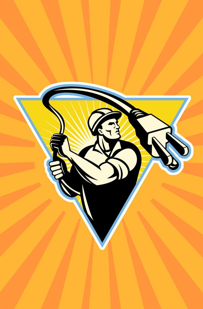 Power Lineman Electrician Lasso