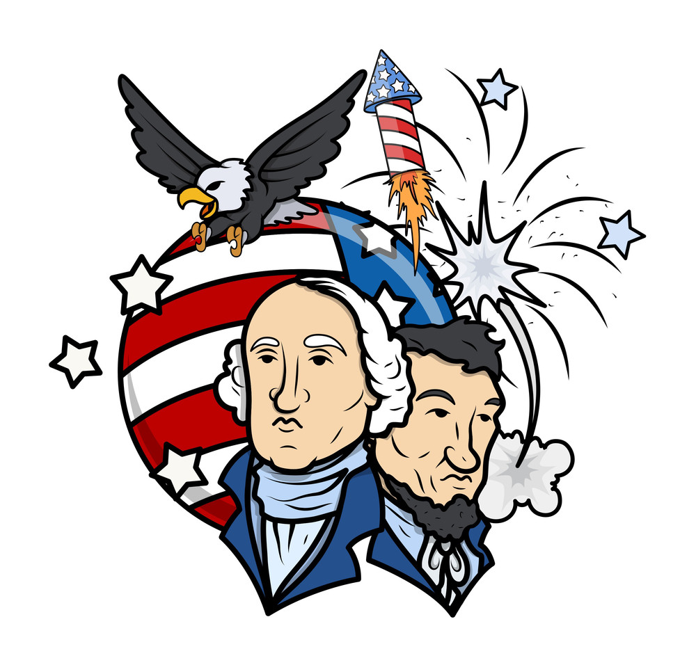 Presidents Day Vector Illustration