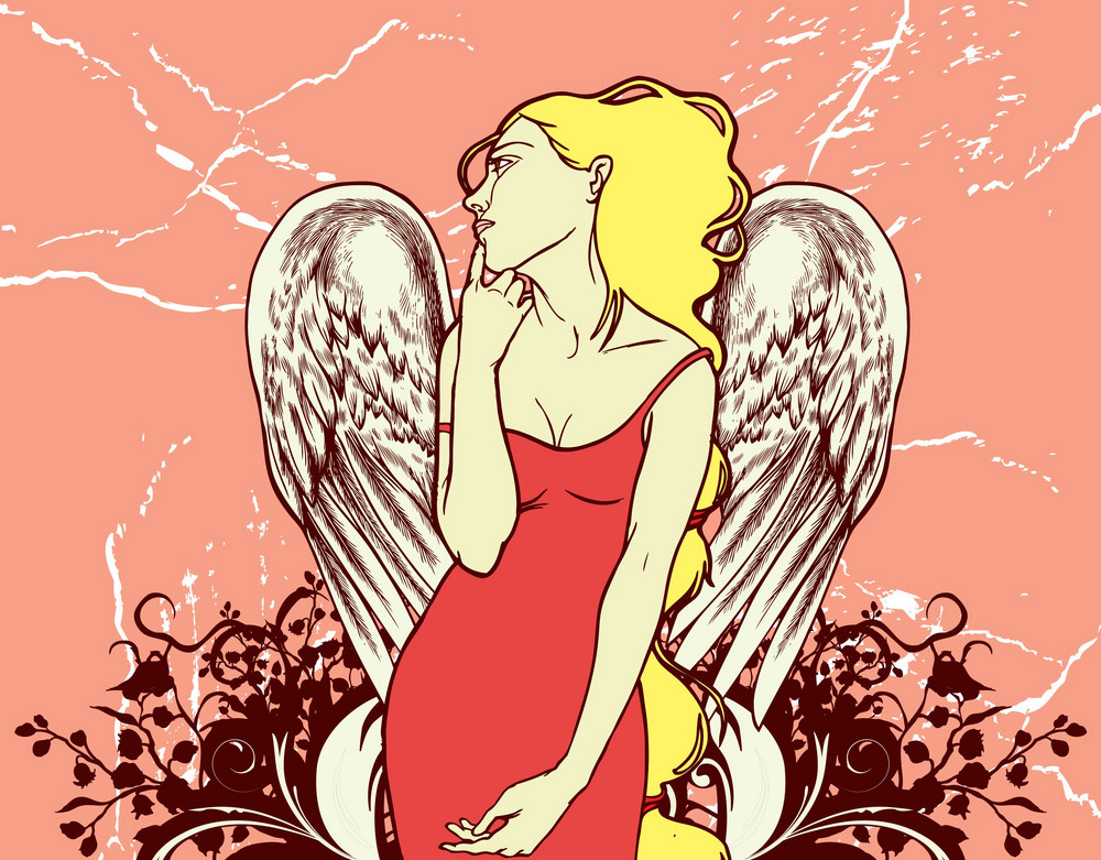 Pretty Girl With Wings