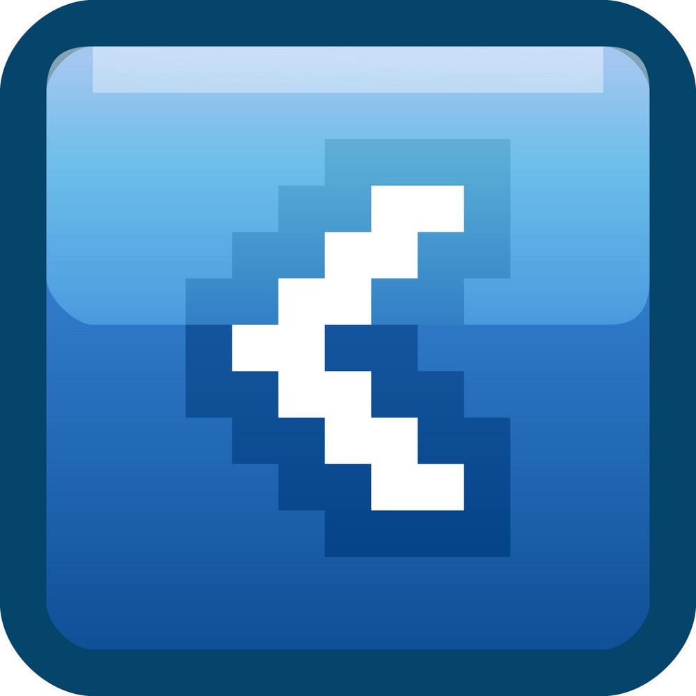 Previous Arrow Blue Tiny App Icon