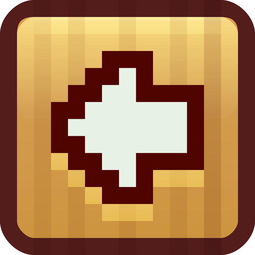 Previous Arrow Brown Tiny App Icon