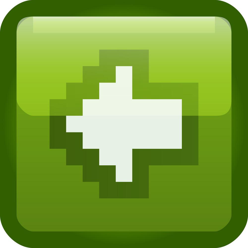 Previous Arrow Green Tiny App Icon