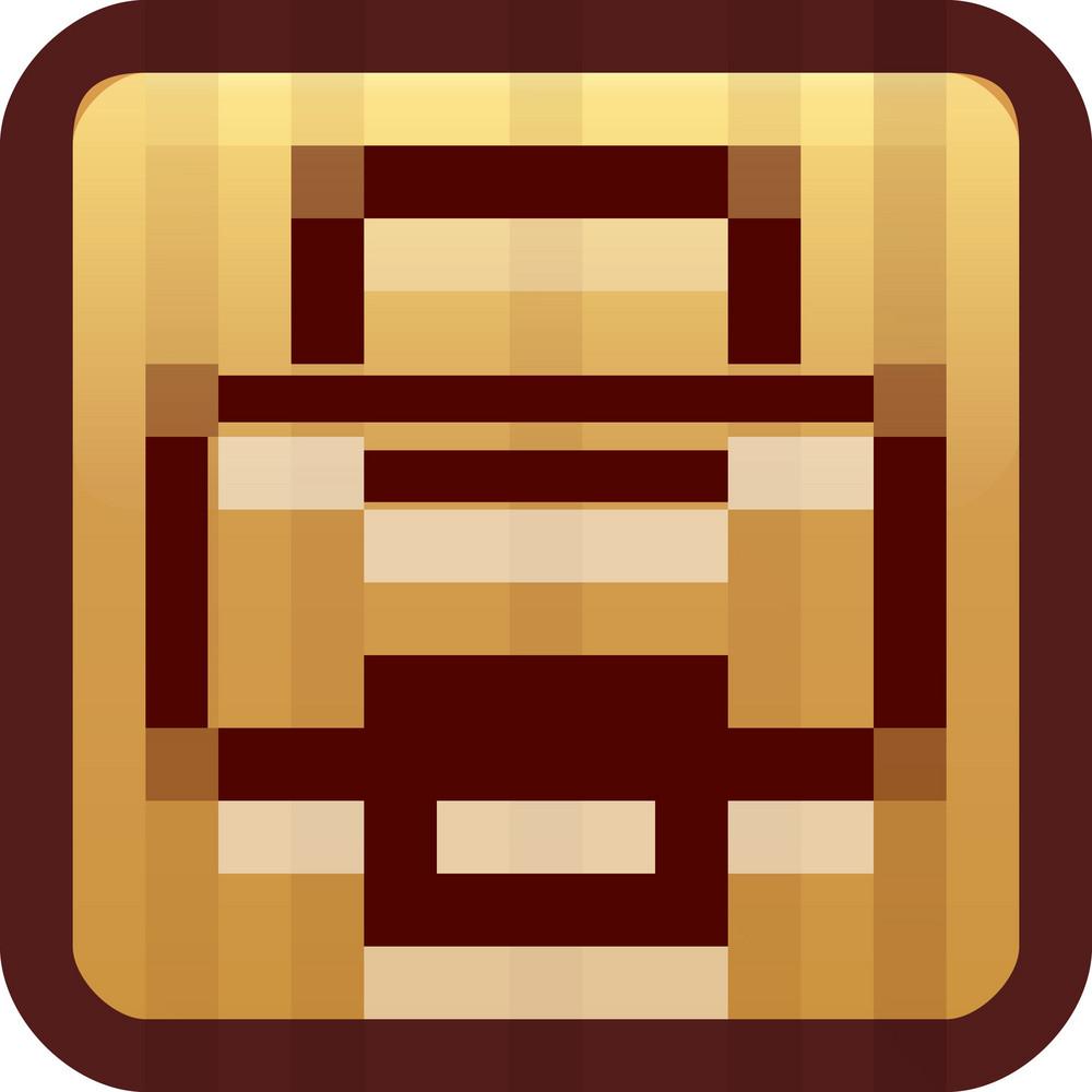 Printer Brown Tiny App Icon