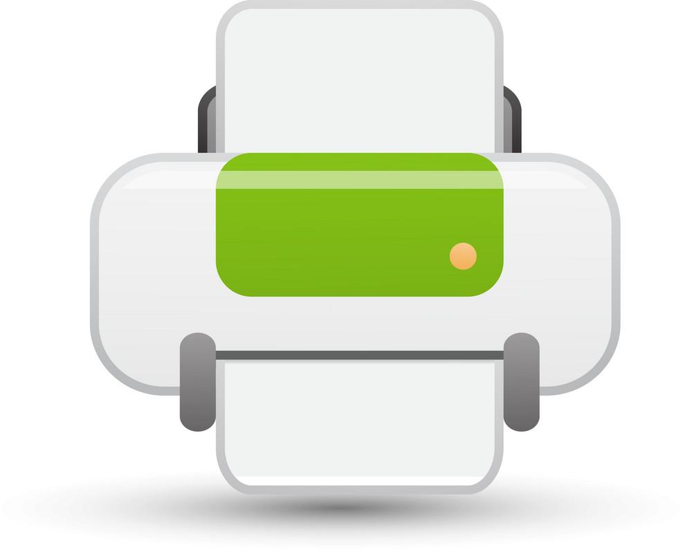 Printer Lite Communication Icon