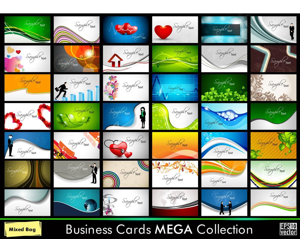 Professional Business Card Set.