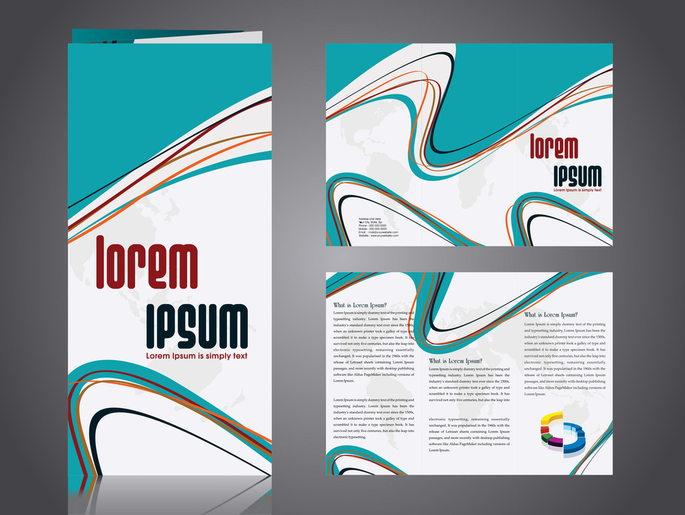 Professional business catalog template or corporate 3 fold brochure professional business catalog template or corporate 3 fold brochure design accmission Gallery