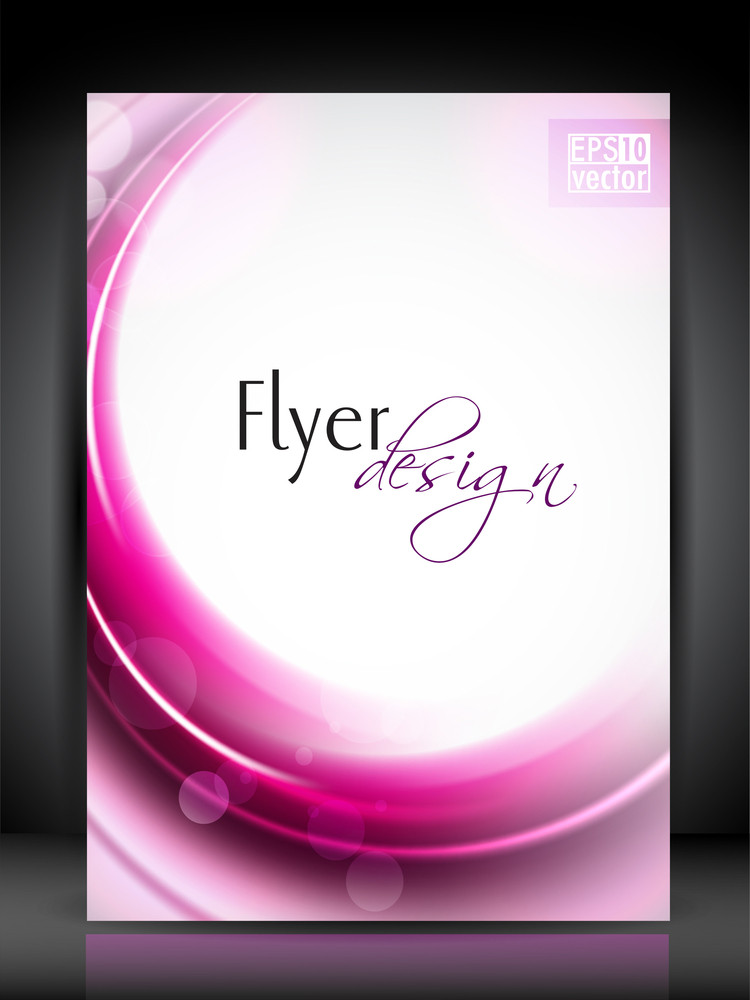 Professional Business Flyer Template Or Corporate Banner Design With Space For Your Text