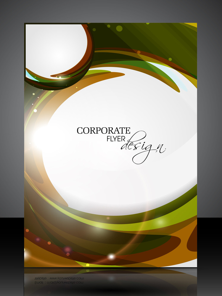 Professional Business Flyer Template Or Corporate Banner Design.